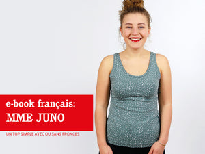 Madame JUNO - un top simple avec ou sans fronces