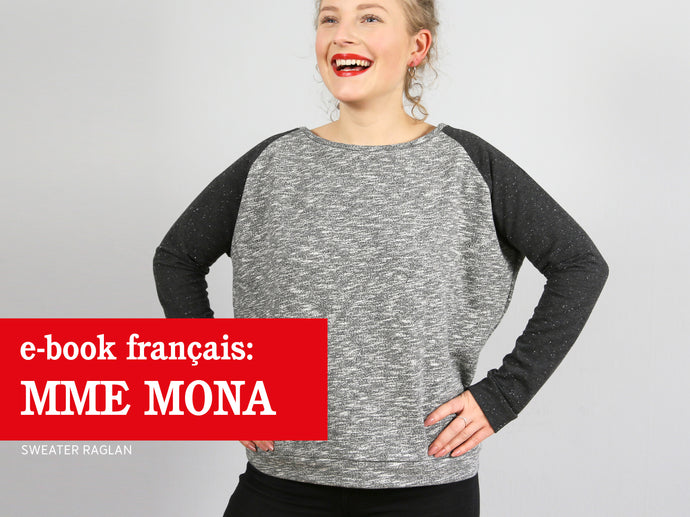 Madame MONA - sweater raglan