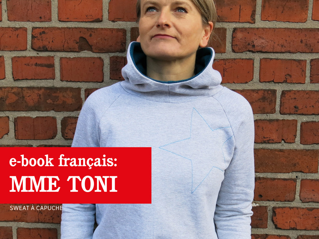 Madame TONI • Sweat à capuche confortable