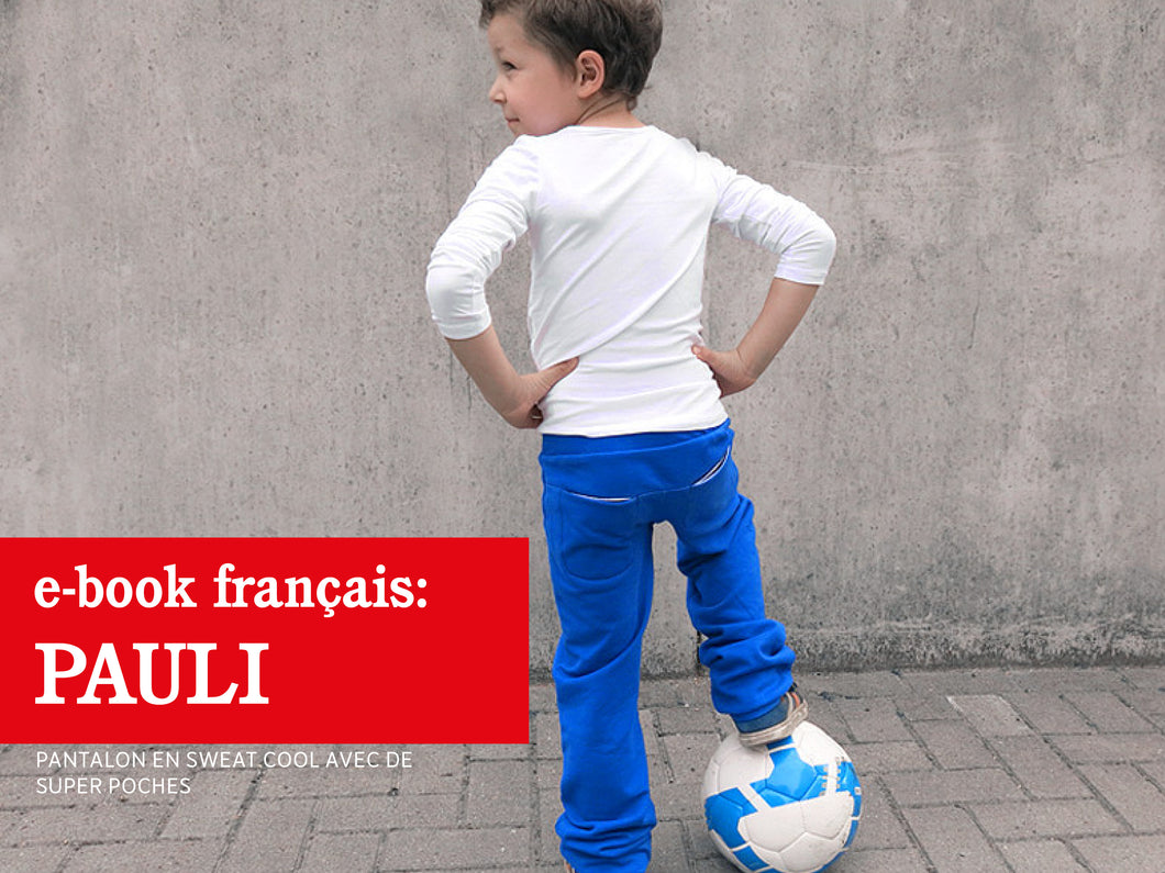 PAULI • Pantalon en sweat cool avec de super poches
