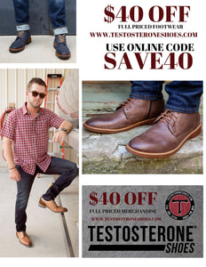 save 40$off full priced footwear