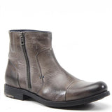 If you're looking for a masculine yet polished boot this fall, take a ride on Testosterone's MIDNITE TRAIN. It includes a 1 inch heel, side zipper, and hidden side gore for extra comfort. This leather boot is classy enough for office-strides and casual enough for weekend treks.