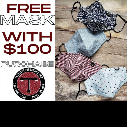 Free Mask with $100 purchase