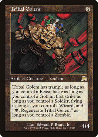 Tribal Golem [Onslaught] | Gamers Paradise
