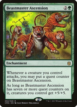 Beastmaster Ascension [Commander Anthology] | Gamers Paradise
