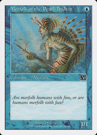Merfolk of the Pearl Trident [Classic Sixth Edition] | Gamers Paradise