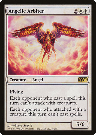 Angelic Arbiter [Magic 2011] | Gamers Paradise