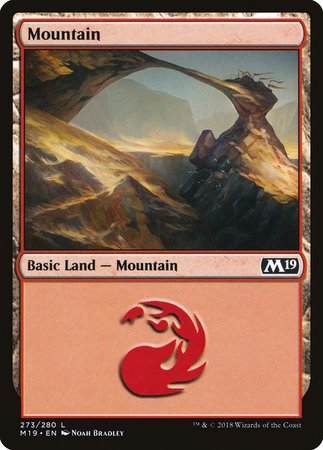 Mountain (273) [Core Set 2019] | Gamers Paradise