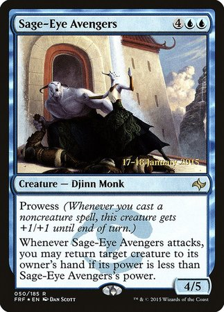 Sage-Eye Avengers [Fate Reforged Promos] | Gamers Paradise