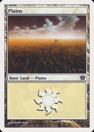 Plains (331) [Ninth Edition] | Gamers Paradise