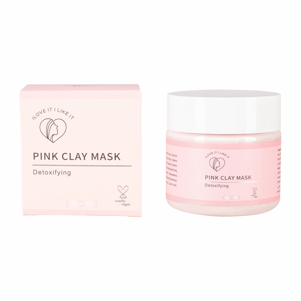 Pink Clay Mask - I LOVE IT I LIKE IT