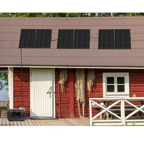 100W 24V Solar Panel - Perfect For Rechargeable Generators