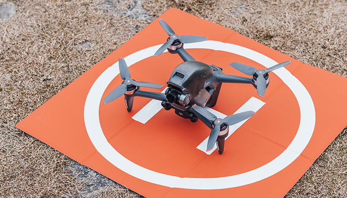 Different size landing pad for DJI FPV