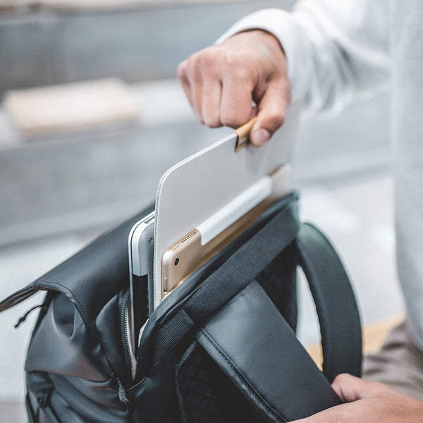 OneGo camera backpack with laptop compartment