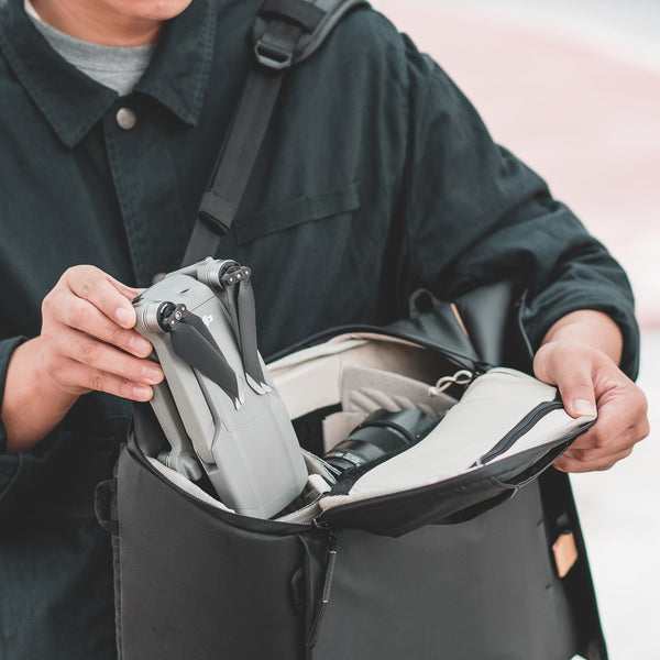 OneGo backpack with side pockets
