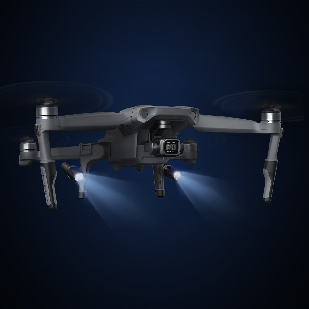 landing gear extensions with LED