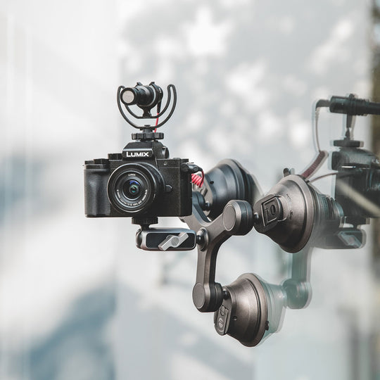 Three-Arm Suction Mount