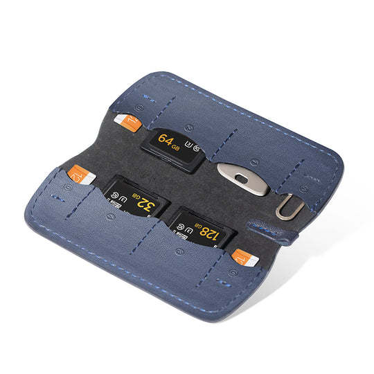 Memory Card Wallet (Deep Navy)