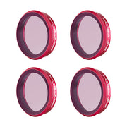 ND Set filter (ND8 ND16 ND32 ND64) for OSMO Action Filter