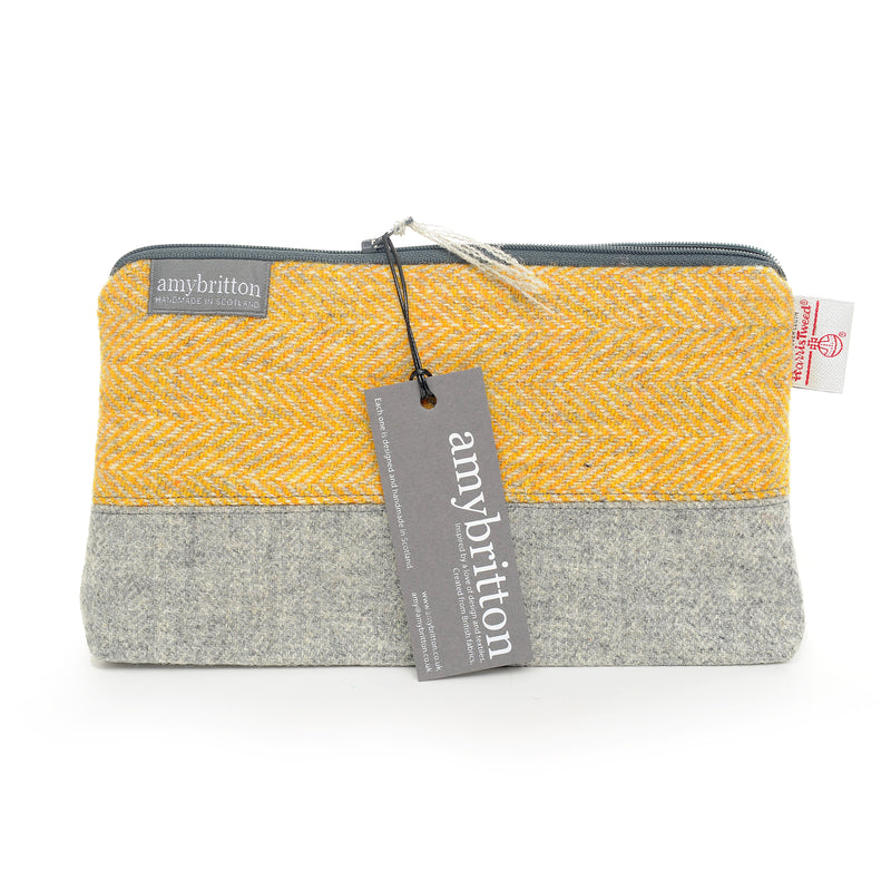 Landscape Harris Tweed® Wash Bag