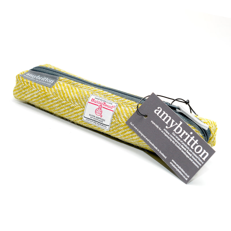 Landscape Harris Tweed® Slim Pencil Case