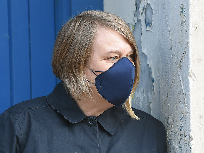 Navy Face Covering
