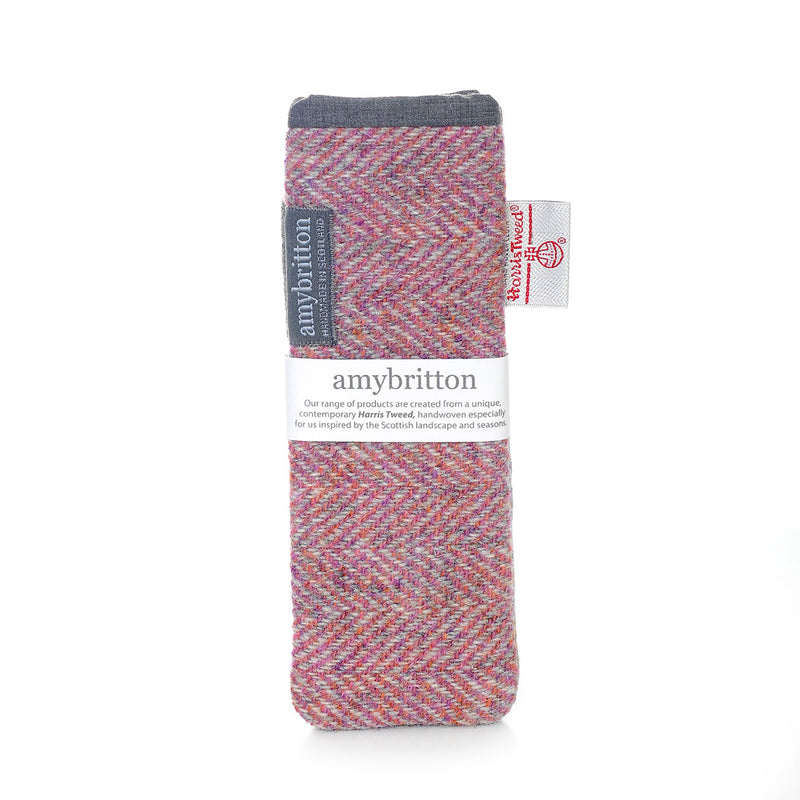 Landscape Harris Tweed® Slim Glasses Case