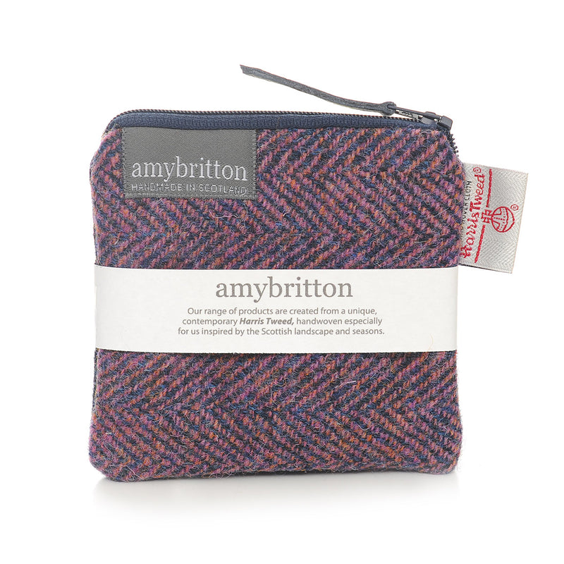 Sunset Harris Tweed® Coin Purse