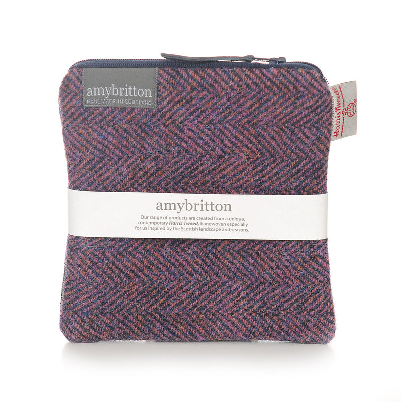 Sunset Harris Tweed® Large Purse