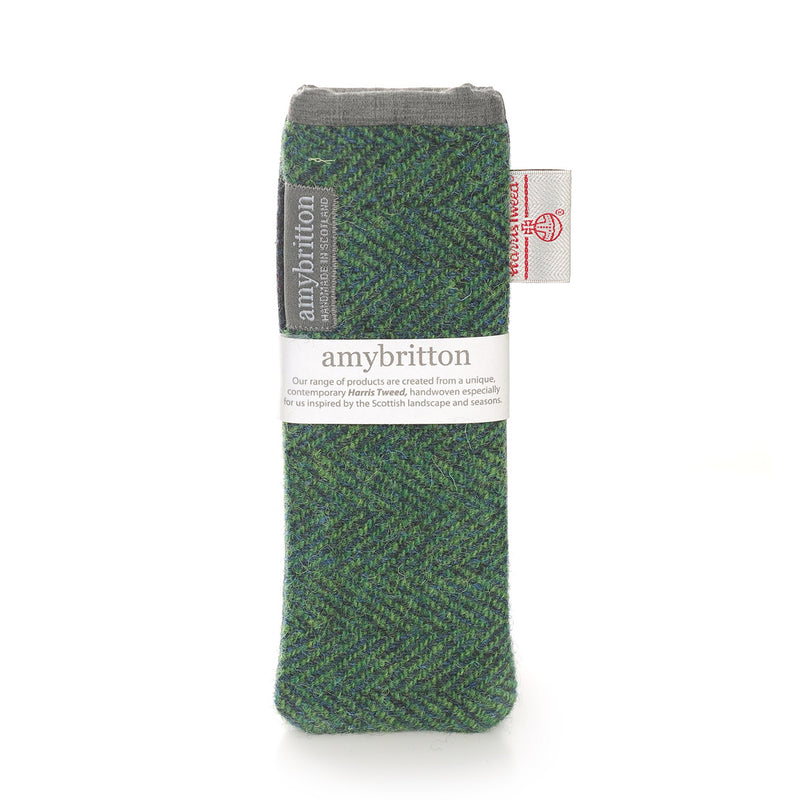 Sunset Harris Tweed® Slim Glasses Case
