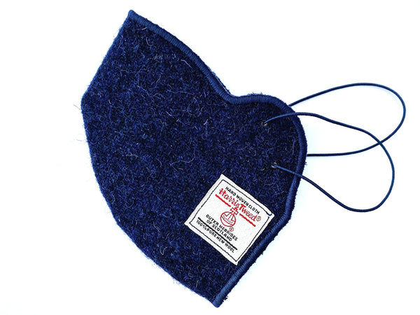 Harris Tweed® Face Covering (Navy)
