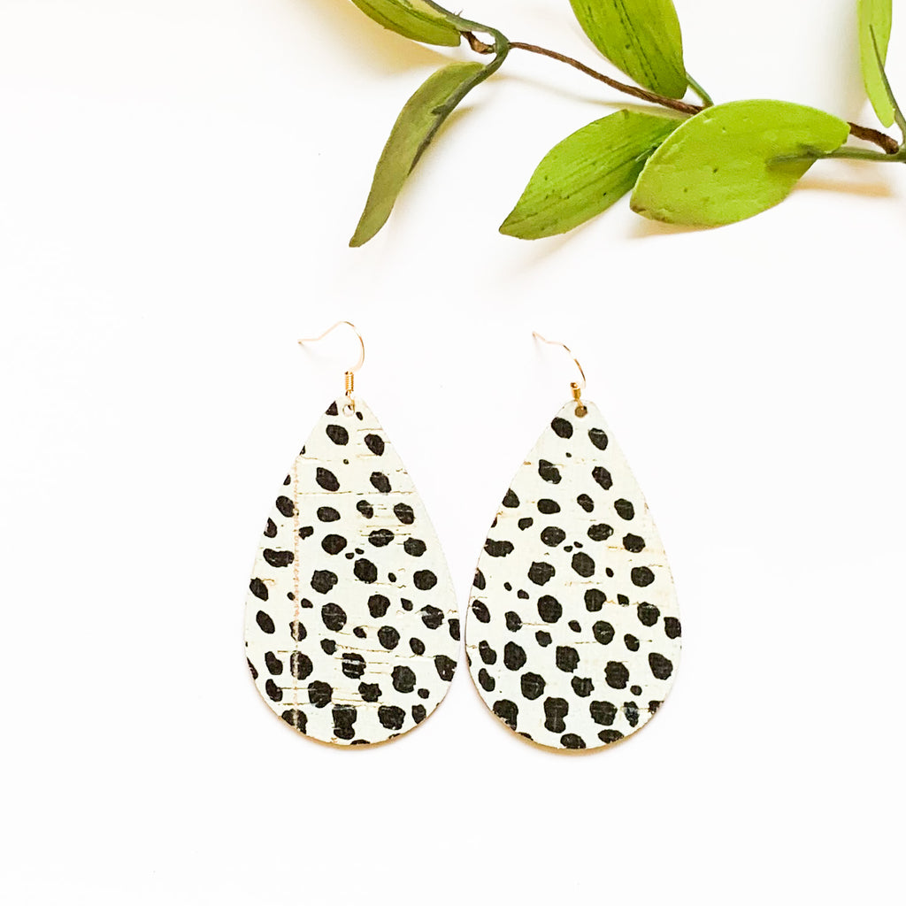 Leather - Dalmatian Teardrop - GraceUnfaded