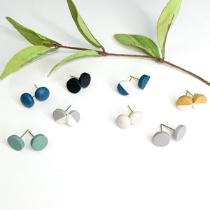 Clay - 10mm Studs - GraceUnfaded