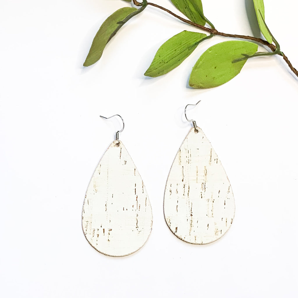 Leather- Birch Teardrop - GraceUnfaded