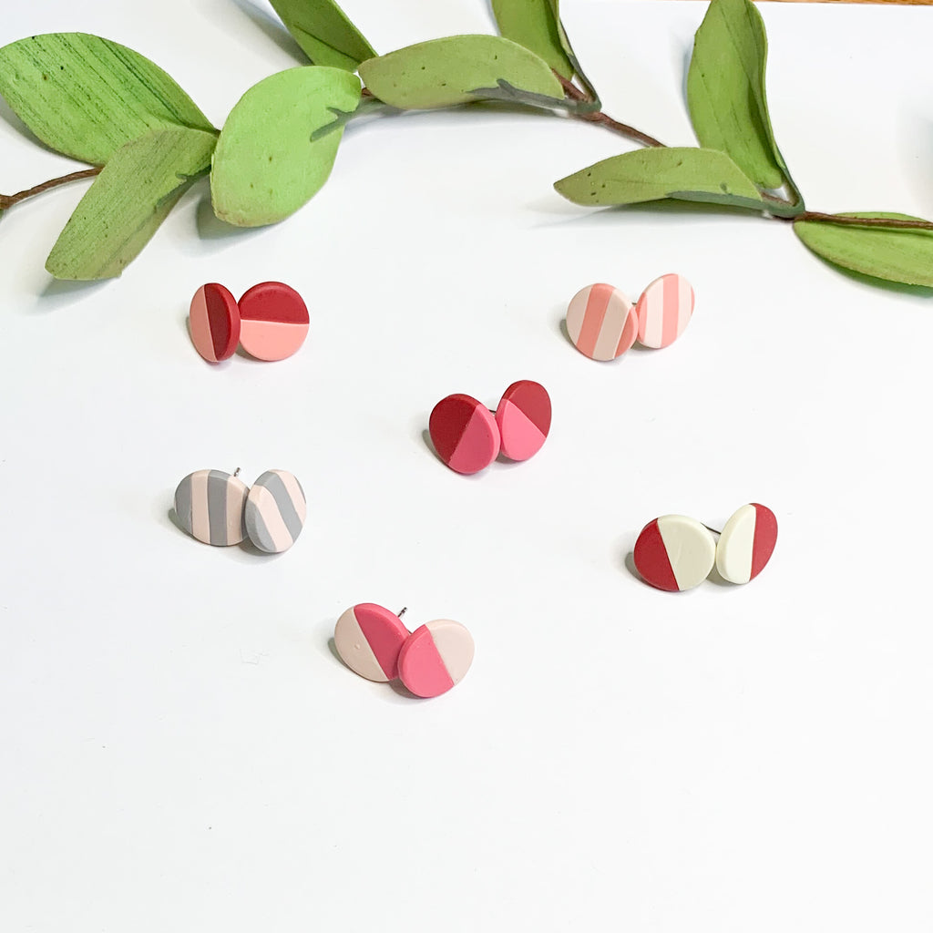 Valentine Studs - 14mm Studs - GraceUnfaded