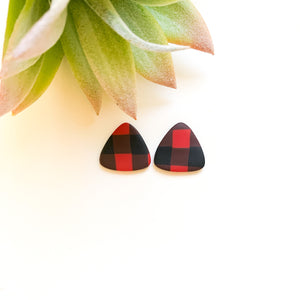 Triangle Statement Studs - GraceUnfaded