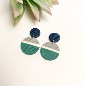 Seattle Mariners Earring Collection - GraceUnfaded
