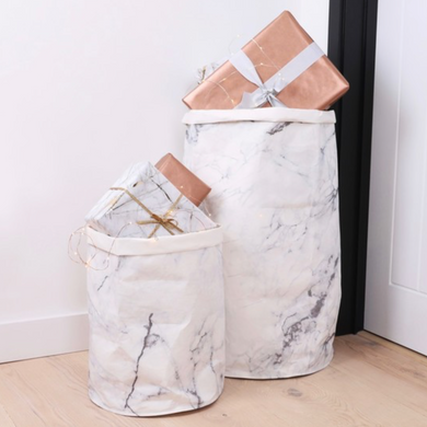 Marble Round Small Storage Sack