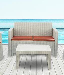 Patio Sofa  Gray