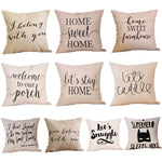 Throw Pillowcases