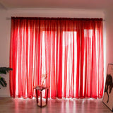 Sheer Window Curtain