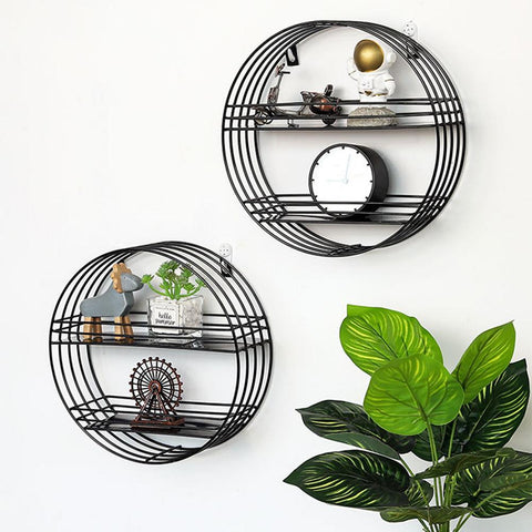 Round Wall Rack