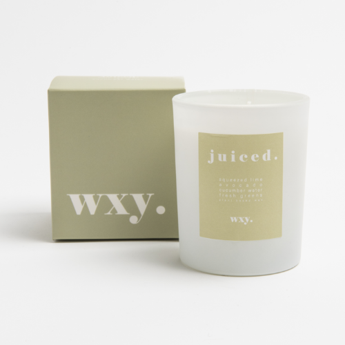 juiced. 7oz candle - LIME AVOCADO & CUCUMBER WATER - WXY
