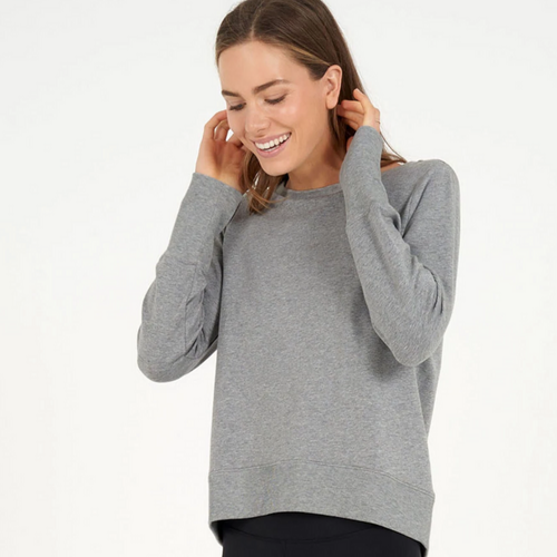 Tranquillity Sweat - Silver Melange