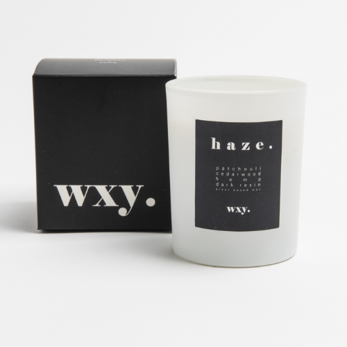 haze. 7oz candle - PATCHOULI & HEMP - WXY
