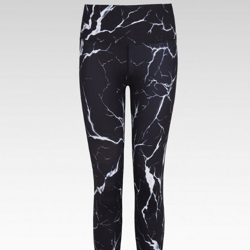 Leggings - Noir Crackle - BN