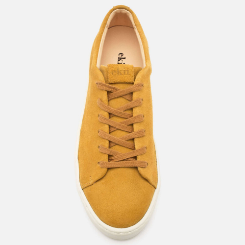 OAK LOW - Ocra suede - EKN