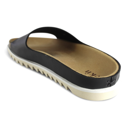 Palm Sandal Black Vegan - EKN