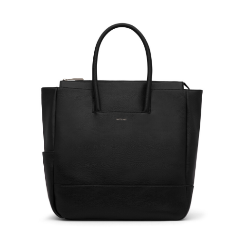 PERCIO Diaper Bag - Black - Matt & Nat