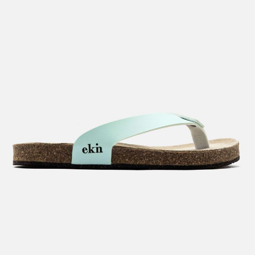 Mint Vegan Leather Sandals - EKN